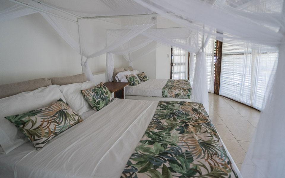 Zimmer in der Hütte Hukumeizi Hotel Palomino