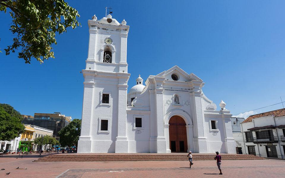 Kathedrale von Santa Marta (Kolumbien)