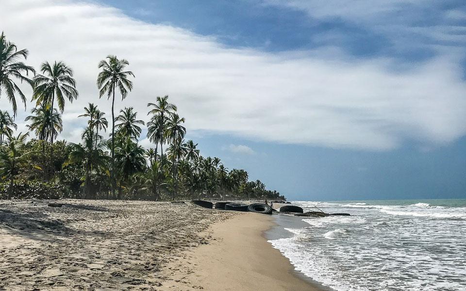 Strand Hukumeizi in Palomino Kolumbien