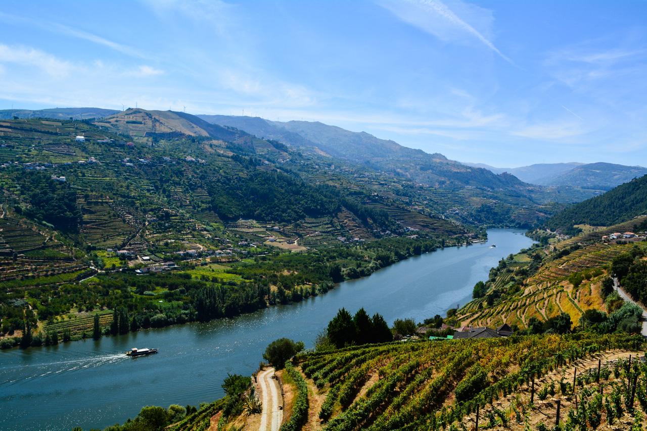 Urlaub im März - Douro Tal Portugal