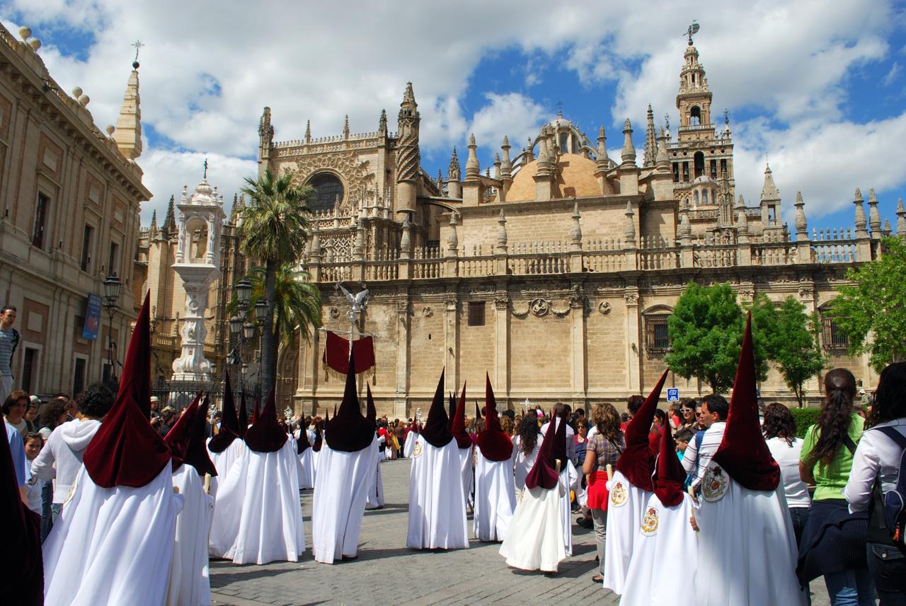 Semana Santa Prozession in Sevilla