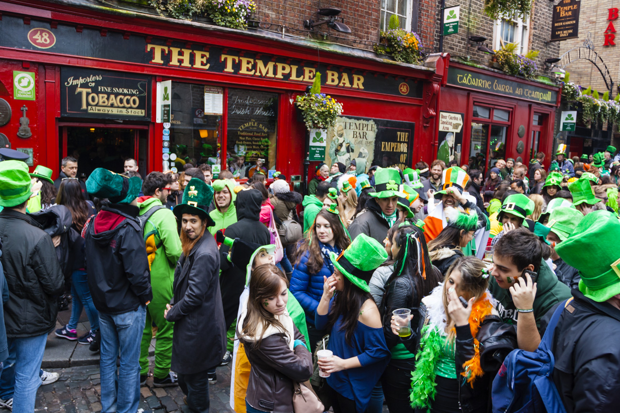 Urlaub im März - St. Patrick's Day in Dublin