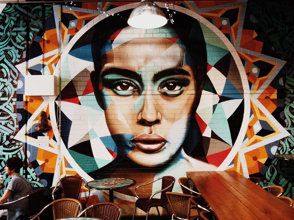 Street Art Central Market Adelaide