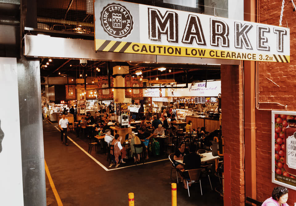 Adelaide Central Market Eingang