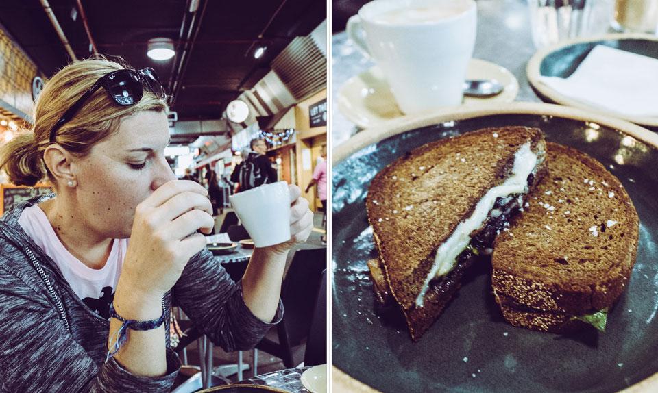 """Frühstück bei """"Comida"""" im Central Market von Adelaide"""