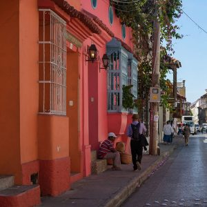 Cartagenas Altstadt is bunt!
