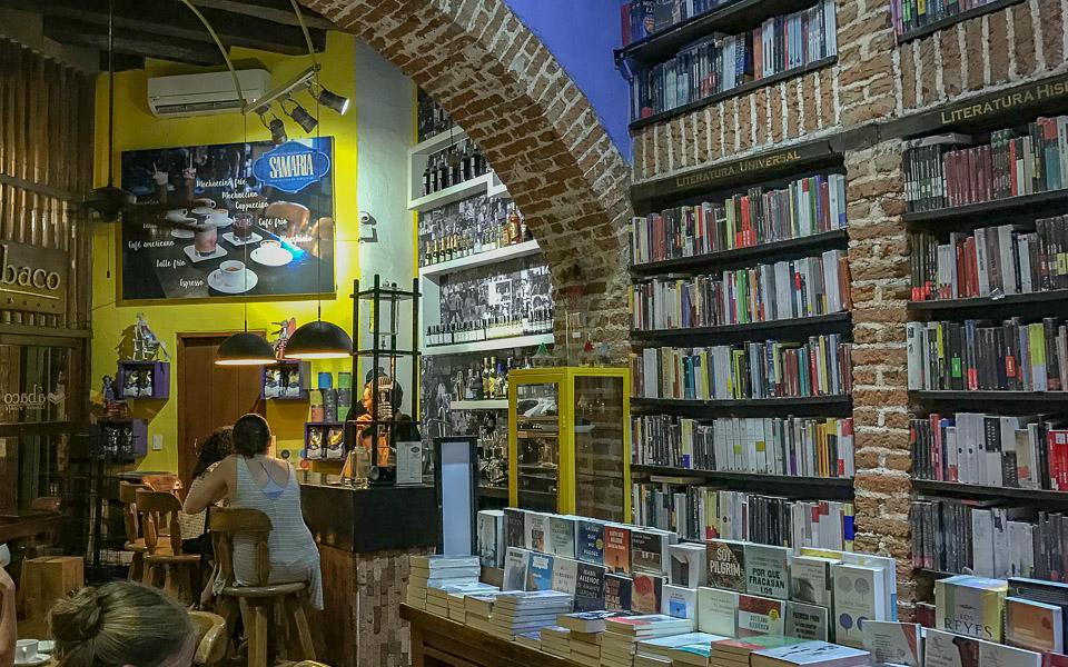 Abaco Libros y Cafe Cartagena Kolumbien