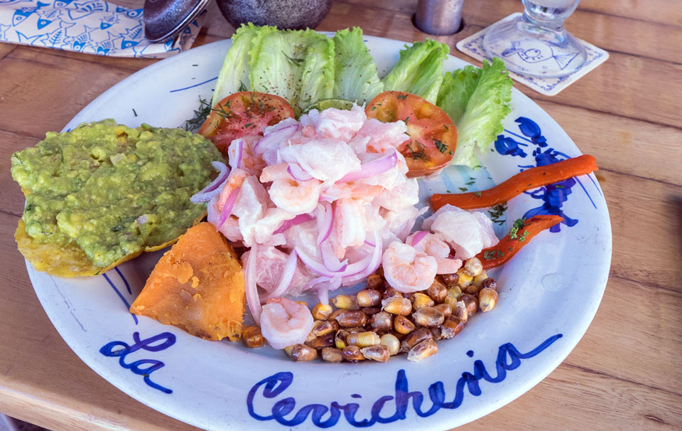 La Cevicheria in Cartagena