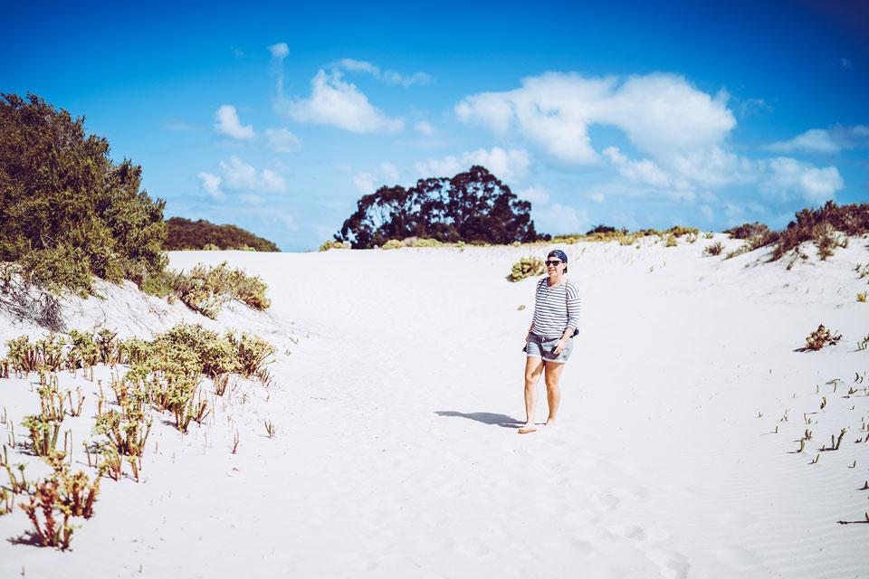Eucla Dünen zum Strand