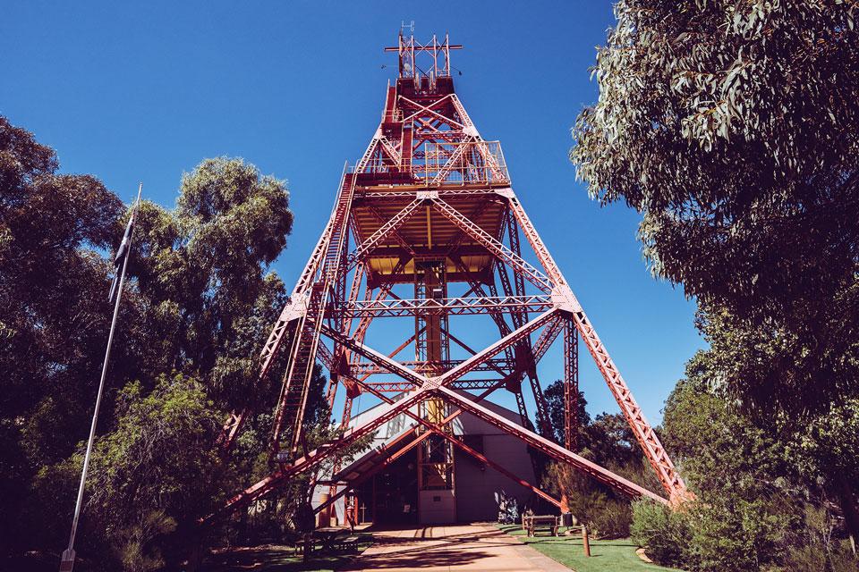 Kalgoorlie Aussichtsplattform Museum
