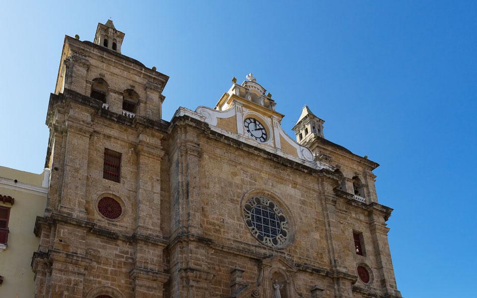 Kirche St. Peter Claver Cartagena Kolumbien