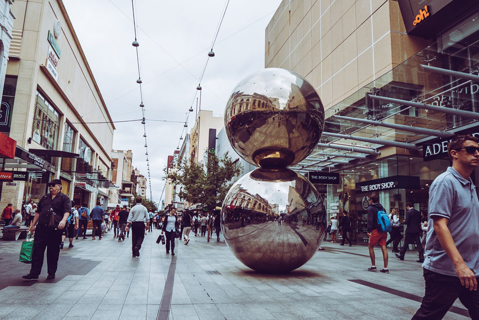 The Malls Balls Adelaide