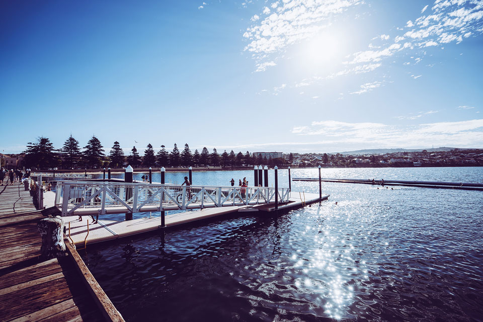 Pier in Port Lincoln / Eyre Peninsula