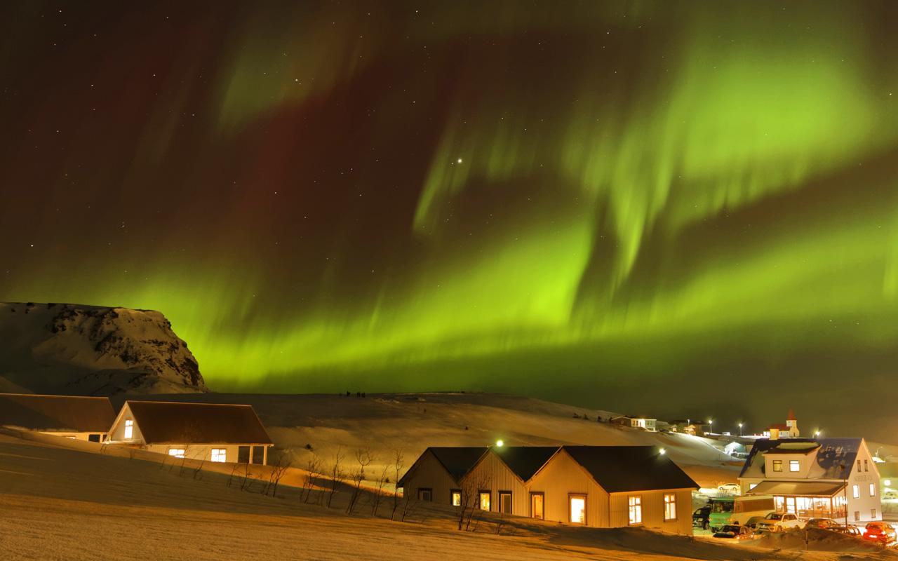 Reisetipps Urlaub im März Island mit Chance auf Polarlichter