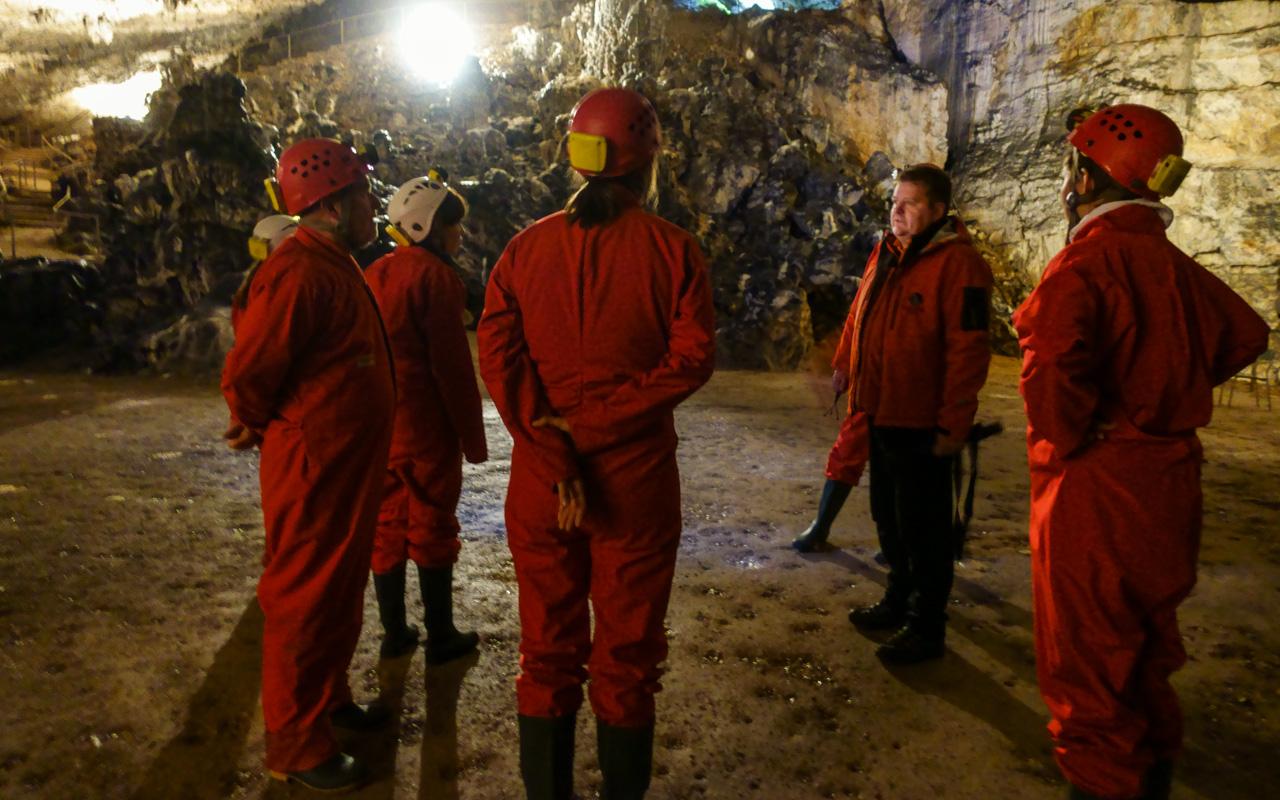 Slowenien - Wanderung durch die Postojna Höhle