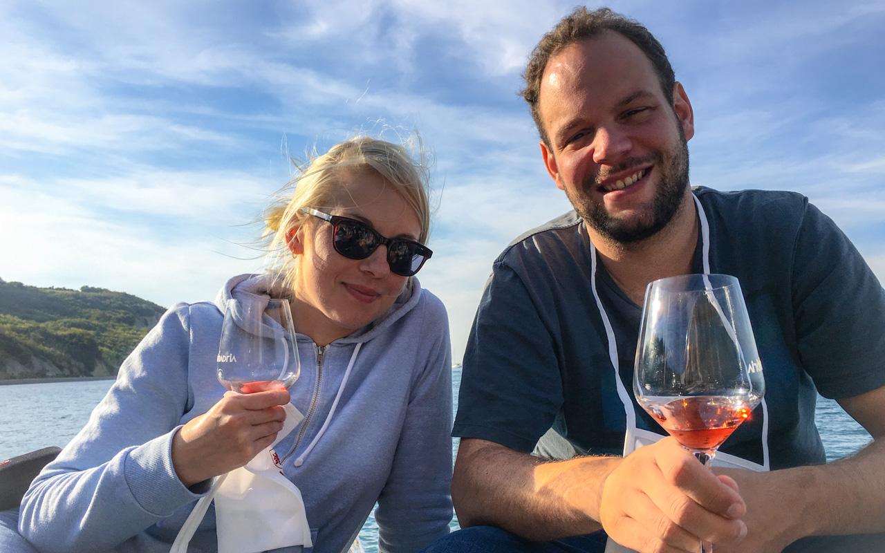 Slowenien Weinprobe in Izola