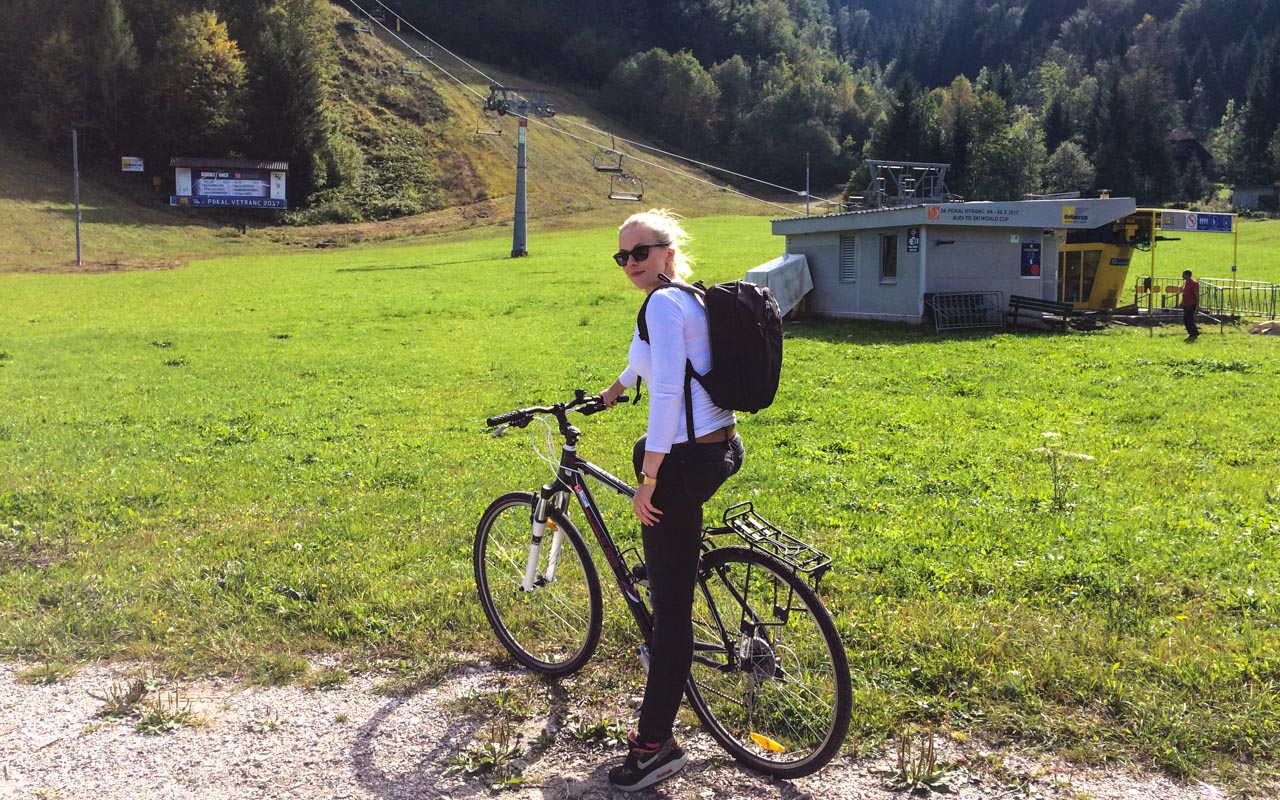 Julisches Alpen in Slowenien mit dem Mountainbike