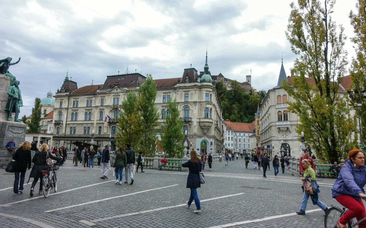 Innenstadt Ljubljana
