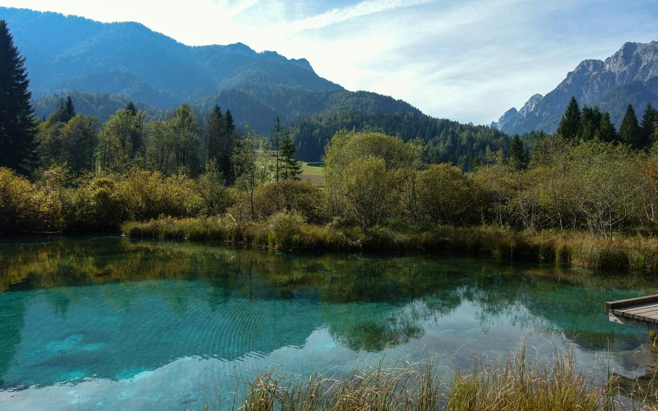 Die Julischen Alpen in Slowenien