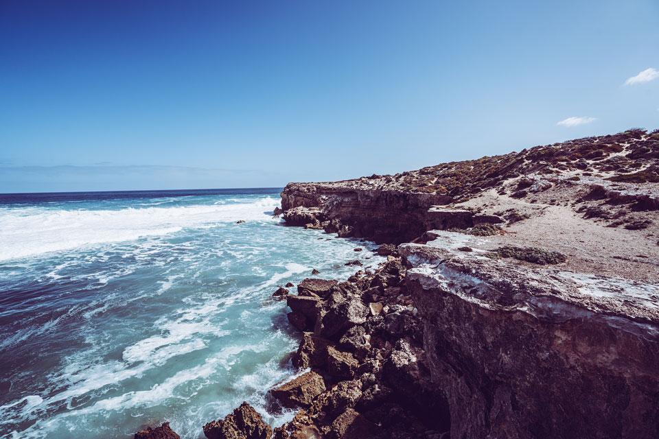 Aussicht Klippen in Streaky Bay Australien