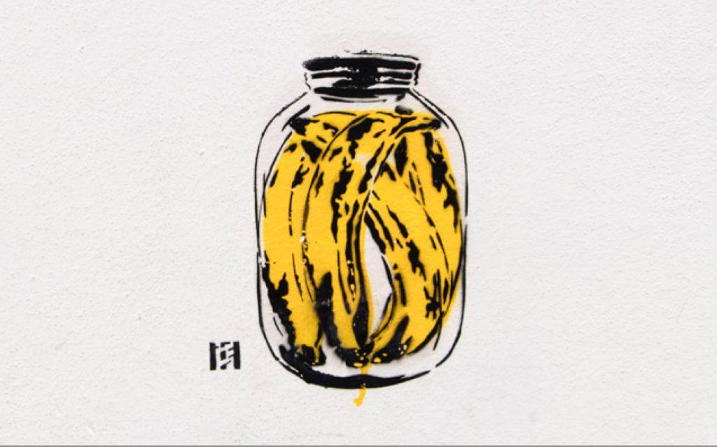Thomas Baumgarten: Bananen an Galerien bedeuten: Gute Qualität!