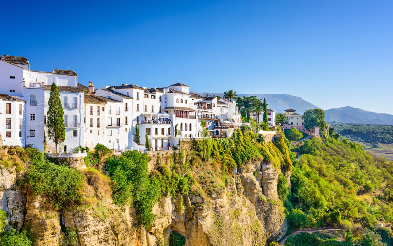 Urlaub im März - Rondo in Andalusien
