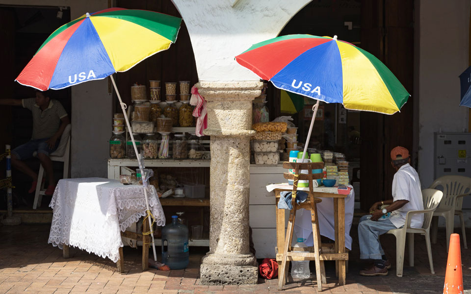 Verkäufer Portal de los dulces Cartagena
