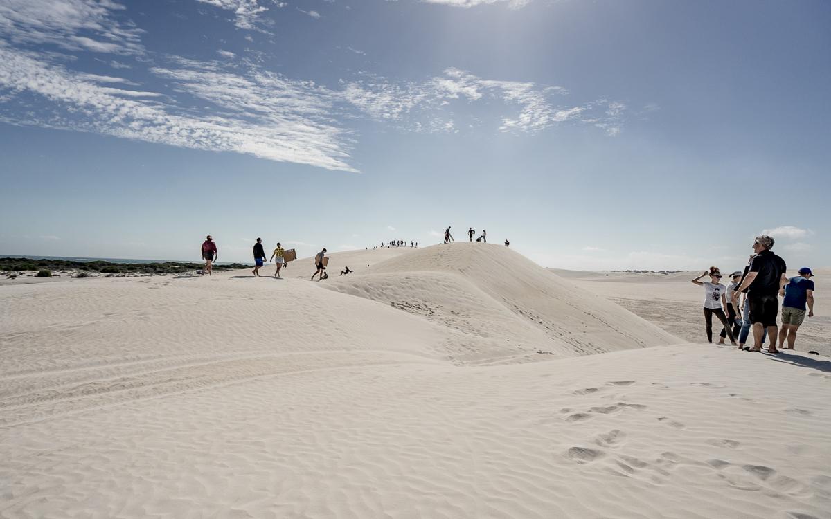 Sanddünen in Lancelin Australien