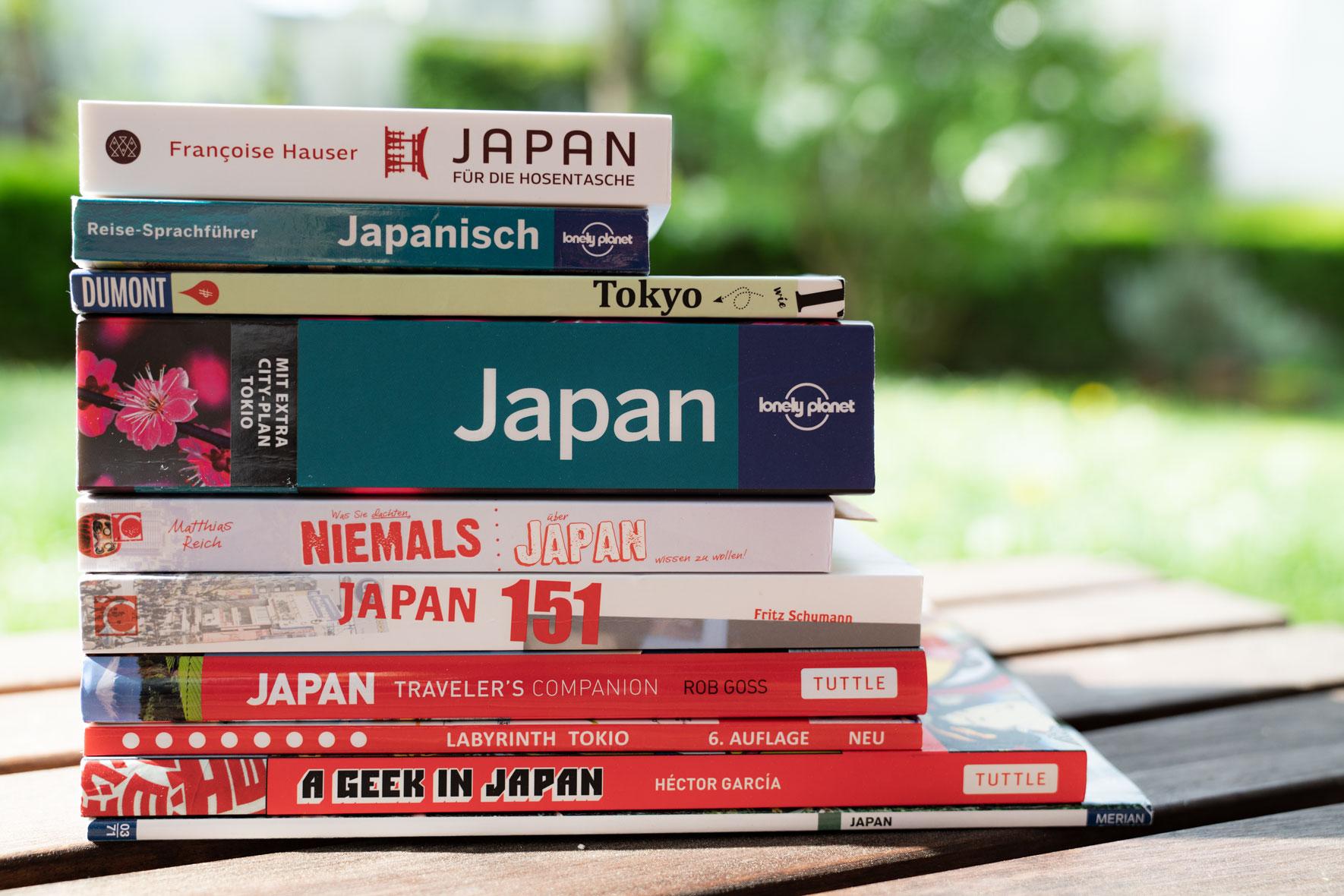 Empfehlung Reiseführer Japan