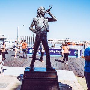 Fremantle Bon Scott Statue AC/DC