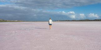 Hutt Lagoon Pink Lake Westaustralien