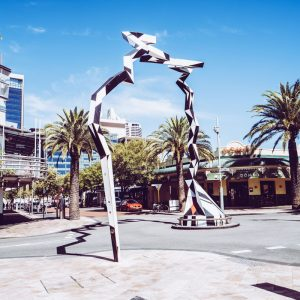 Kunst Northbrigde Piazza Perth