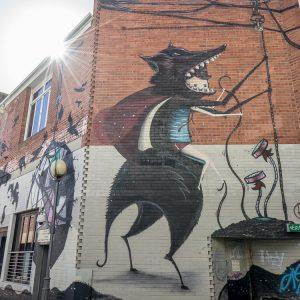 Street Art Northbridge Perth