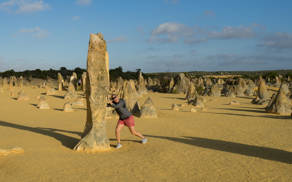 Pinnacles Desert Australien