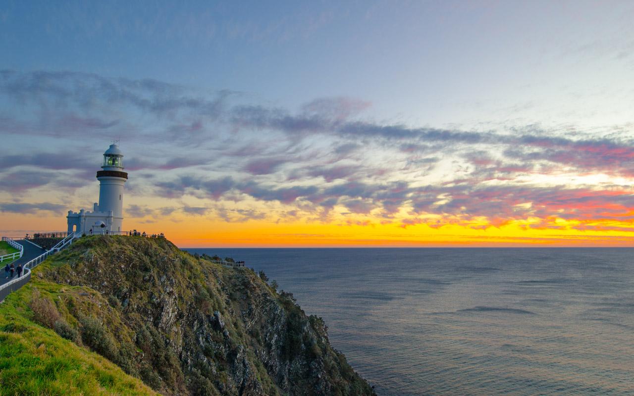 Urlaub im April in Byron Bay, Australien