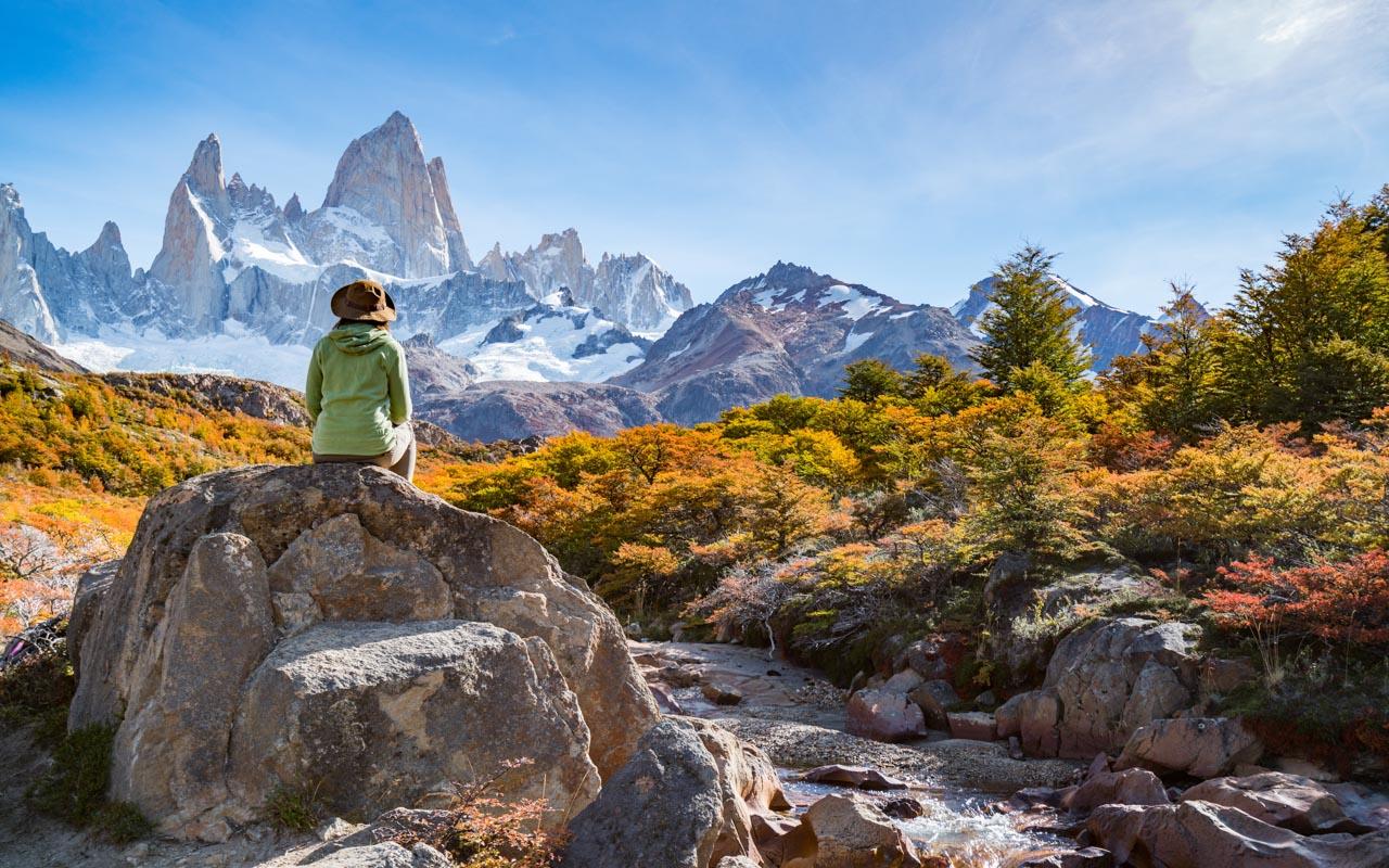 Urlaub im April in Patagonien Herbst