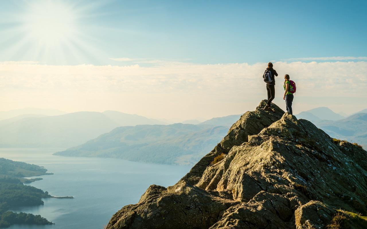 Urlaub im Mai Schottland Highlands