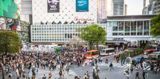 Tokio Sehenswürdigkeiten Shibuya Crossing