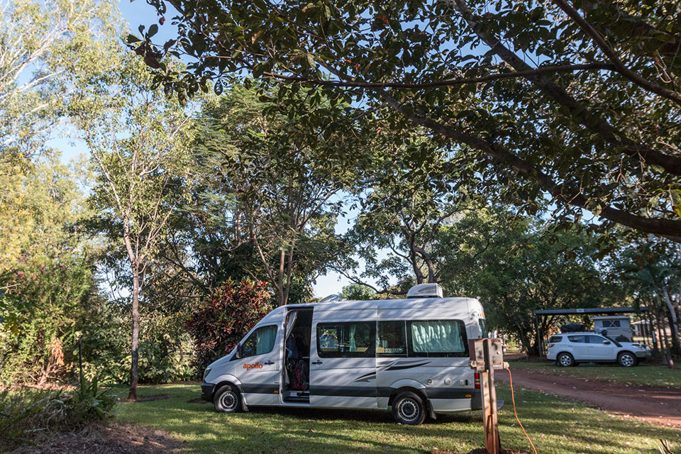 Litchfield Tourist Park Campervan