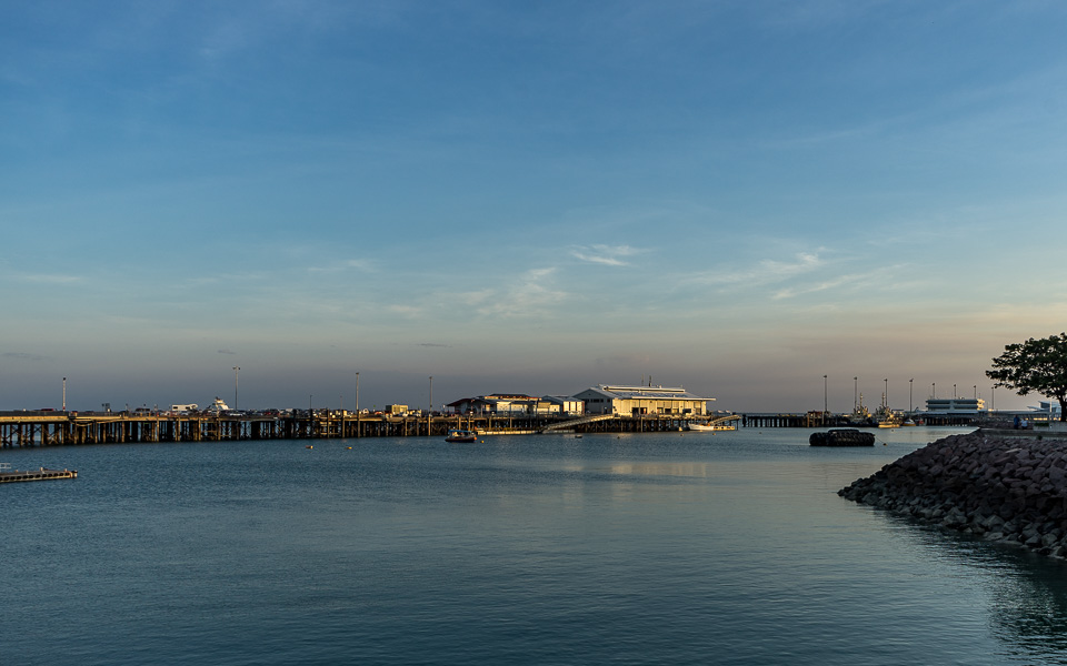 Darwin Tipp Stokes Hill Wharf