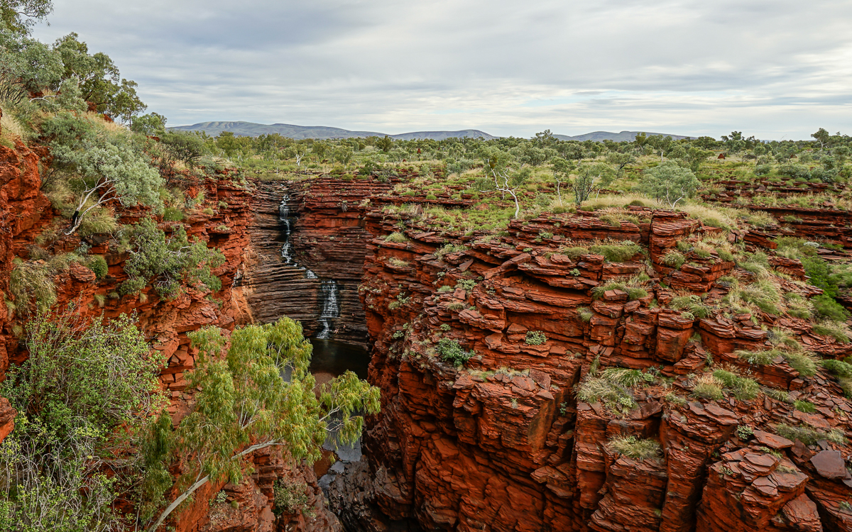 Joffre Lookout Karijini Nationalparkl