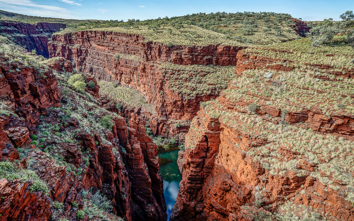 Karijini Nationalpark, Oxer's Lookout