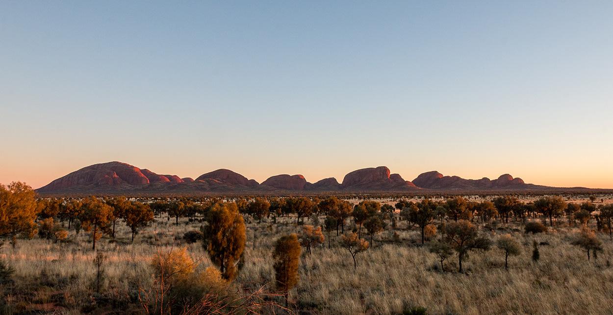 Sonnenaufgang Kata Tjuta Australien