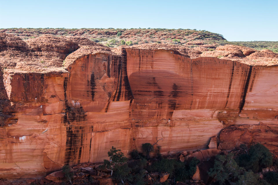 Kings Canyon Schlucht Kante