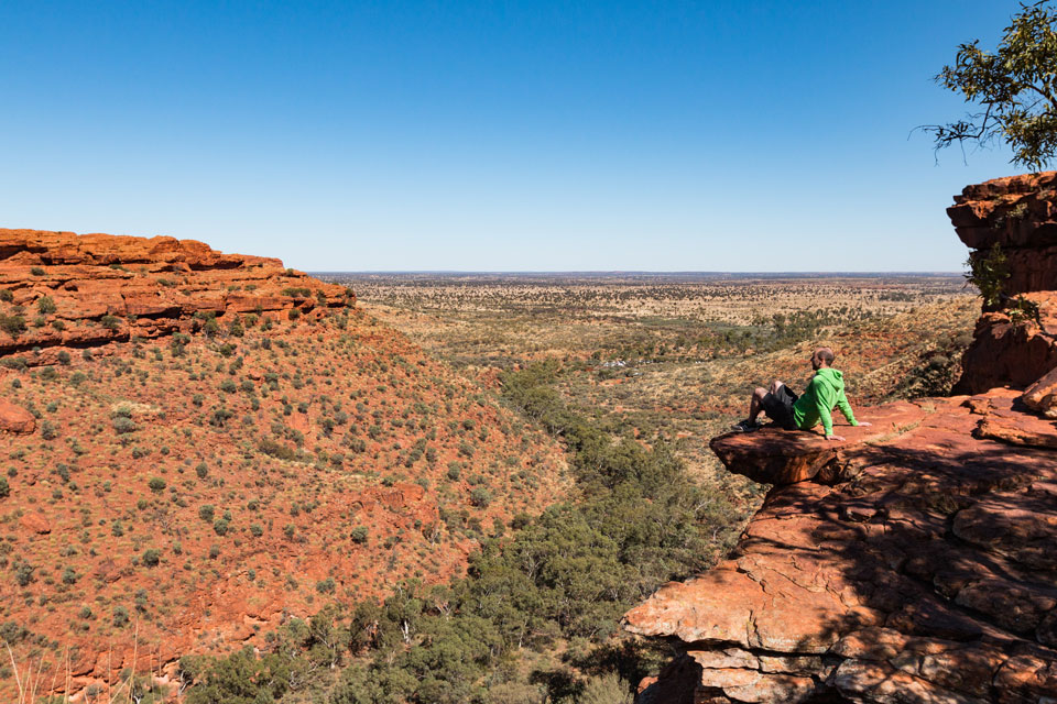 Kings Canyon Rim Walk Aussicht