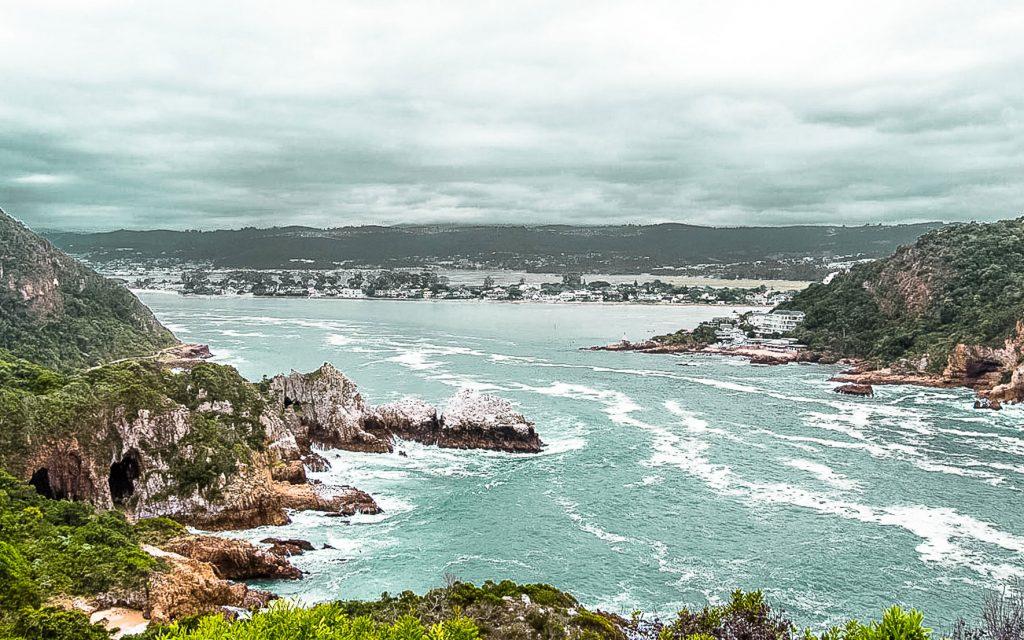 Viewpoint Knysna Heads, Südafrika