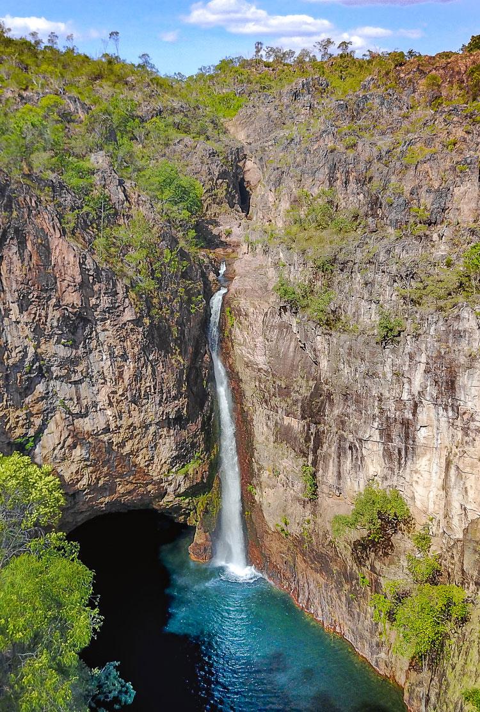 Tomer Falls, Litchfield Nationalpark