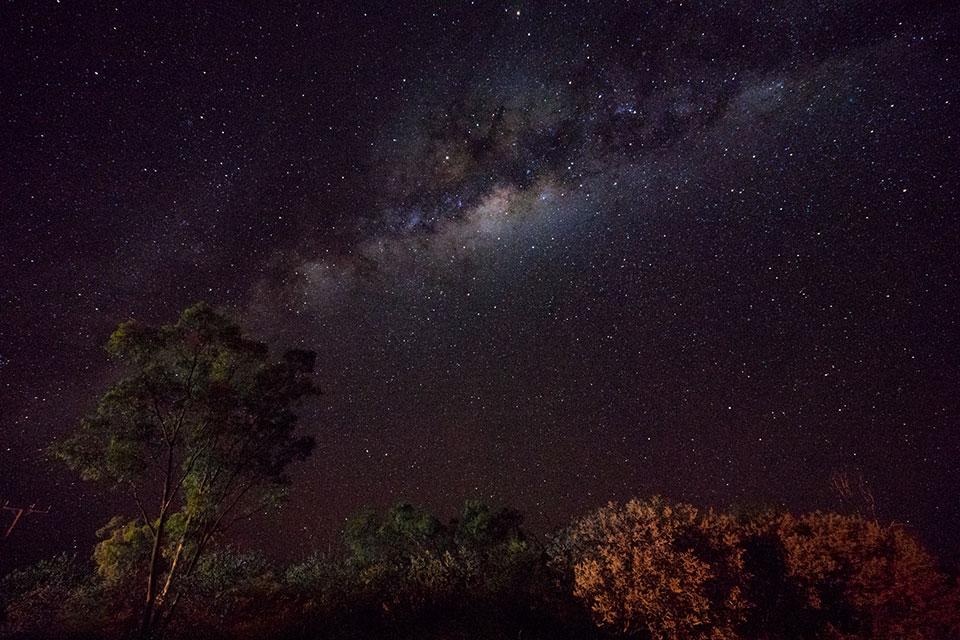 Australien Nachthimmel