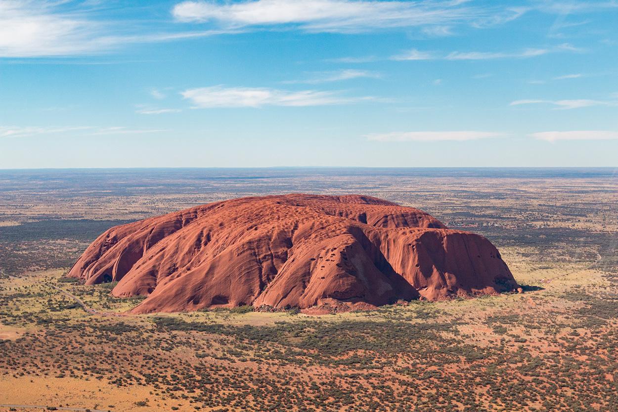 Uluru Helikopter Rundflug