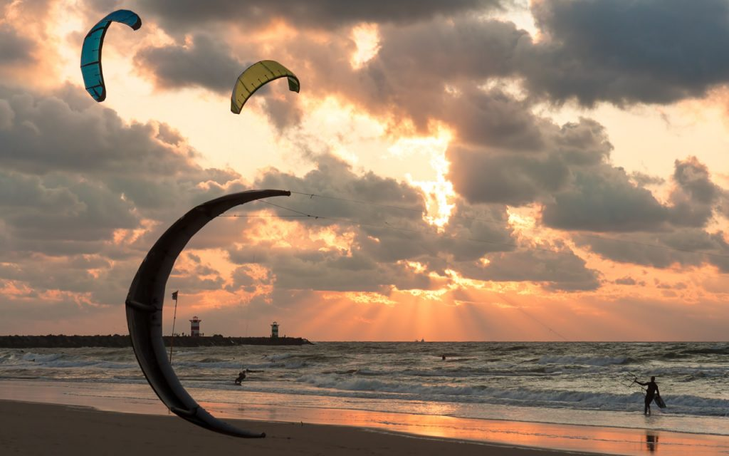 Urlaub im Juli surfen Niederlande